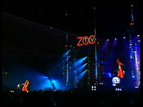 U2 - Even Better Than The Real Thing & Mysterious Ways (Zoo TV Live from Sydney)
