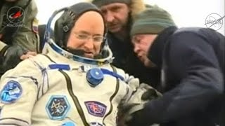Scott Kelly back on Earth after 340 days in space