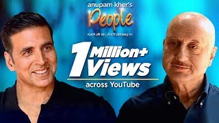 Anupam Kher's 'People' With Akshay Kumar   Exclusive Interview