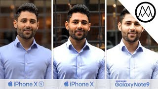 iPhone XS / XS Max vs iPhone X vs Samsung Note 9 Camera TEST