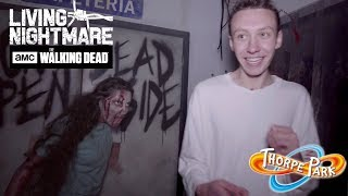 INSIDE THE WALKING DEAD: LIVING NIGHTMARE | THORPE PARK FRIGHT NIGHTS 2018