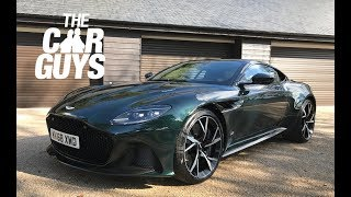 NEW Aston Martin DBS Superleggera collection & review (part 1)