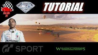 GT Sport Lewis Hamilton DLC Willow Springs Diamond Guide