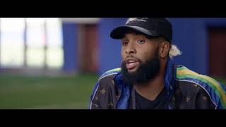 Odell Beckham Jr. Chats  with Michael Strahan ON Contract Extension, NFL Comeback & More