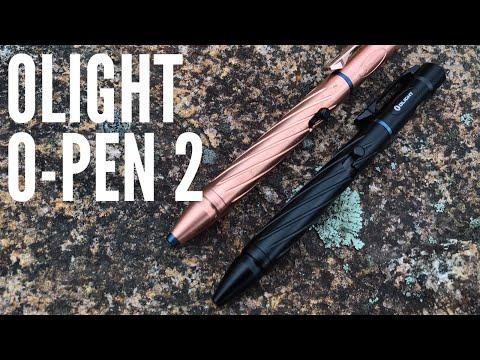 Olight O-Pen 2: Pen + Flashlight + Self-Defense Tool