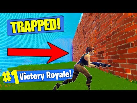 TRAPPING ENEMIES IN THE STORM In Fortnite Battle Royale!