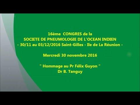 Hommage au Pr Félix Guyon. Dr B. Tanguy
