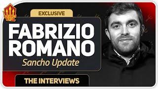 FABRIZIO ROMANO SANCHO TRANSFER UPDATE! Man Utd Transfer News