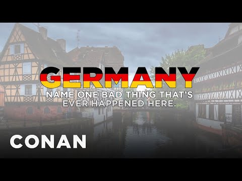 A Message From The German Board Of Tourism - CONAN on TBS