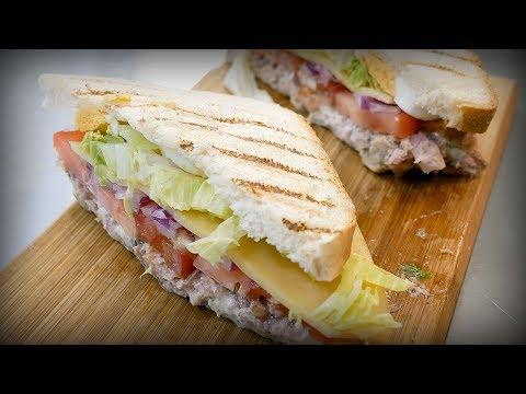 Сэндвич с тунцом. Классный соус