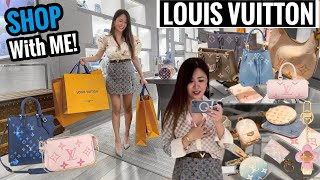 HUGE SHOPPING DAY at LOUIS VUITTON! 🛍 The NEW HOTTEST BAGS - Summer 2021 | Luxury Shopping Vlog