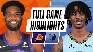 SUNS at GRIZZLIES   FULL GAME HIGHLIGHTS   January 18, 2021