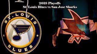 2019 Playoff Preview - St Louis Blues vs San Jose Sharks