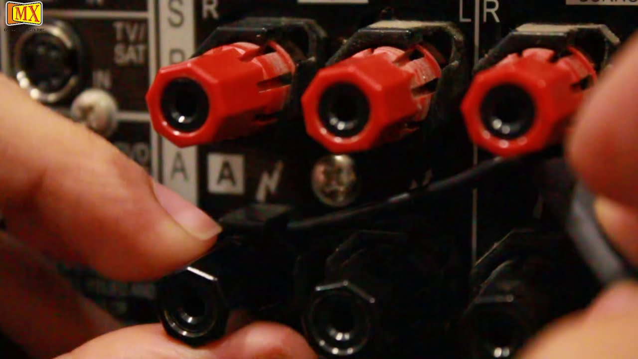 How To Connect Amplifier Amp Speakers Using Y Connector