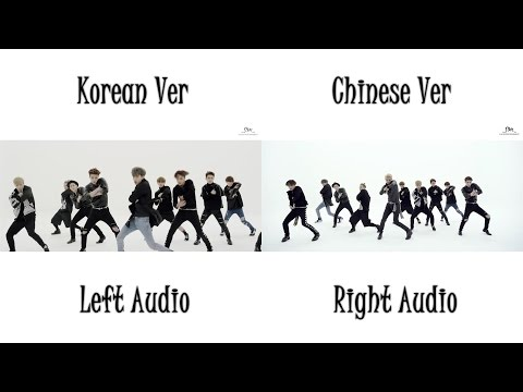 EXO - CALL ME BABY (Korean Chinese MV Comparison)