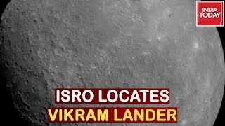 Big Breakthrough For ISRO, Chandryaan 2 Lander Vikram Located Via Orbiter