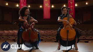 Allison Williams and Logan Browning on learning to play the cello for The Perfection