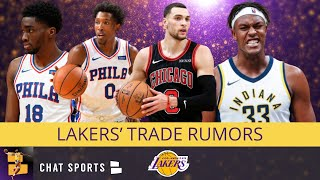 Lakers Trade Rumors: Can The Lakers Trade For Myles Turner, Zach LaVine or Josh Richardson?
