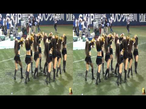 JAPAN X-League cheerleaders 3D (side by side half)