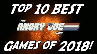 Top 10 BEST Games of 2018!