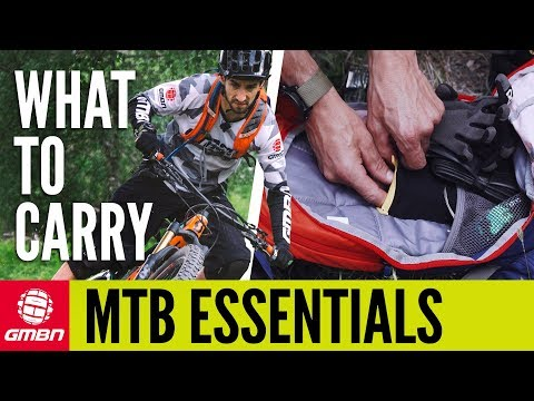 Carrying Spares And Tools On A Mountain Bike | GMBN How To