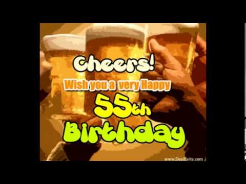 Send Free Online Invitations And Announcements Happy 55th Birthday Cards For Mom Dad Grandfather Grandmother
