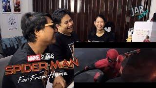 JAB React : (EP.16) Spider-Man: Far From Home | Teaser Trailer