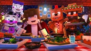 Minecraft FNAF 6 Pizzeria Simulator - FANCY PIZZERIA?! (Minecraft Roleplay)