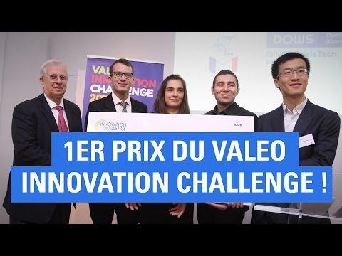"""Une équipe de MINES ParisTech lauréate du """"Valeo innovation challenge"""" 2016"""