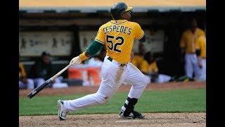 Yoenis Cespedes | Oakland Athletics Highlights
