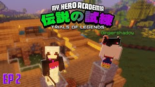 My Hero Academia Minecraft SMP - Explosion Quirk OP -  Trials Of Legends Server!