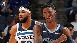 Minnesota Timberwolves vs Memphis Grizzlies - Full Game Highlights | November 6 | 2019-20 NBA Season