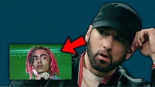 Eminem Reacts to Being Dissed by Mumble Rappers...