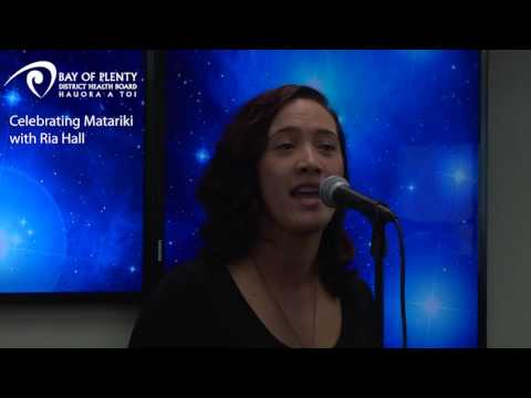 BOPDHB - Celebrating Matariki with Ria Hall