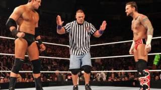 Raw: CM Punk vs. Wade Barrett