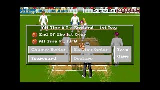 Brian Lara Cricket | DOS | Legend Series | Test | All Time XI vs England | 1st Day | SGCTS