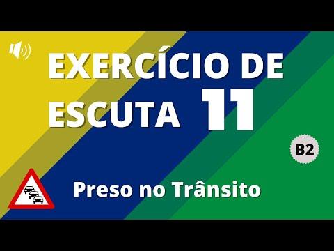 Exercício de escuta #11 - Nível B2 | Preso no Trânsito | Vou Aprender Português