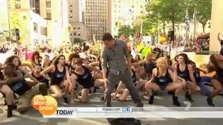 Magic Mike Flashmob featuring Channing Tatum and PMG!! (The Today Show) from The Morning show