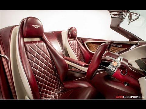 Car Design: 2017 Bentley EXP 12 Speed 6e Concept (Interior)