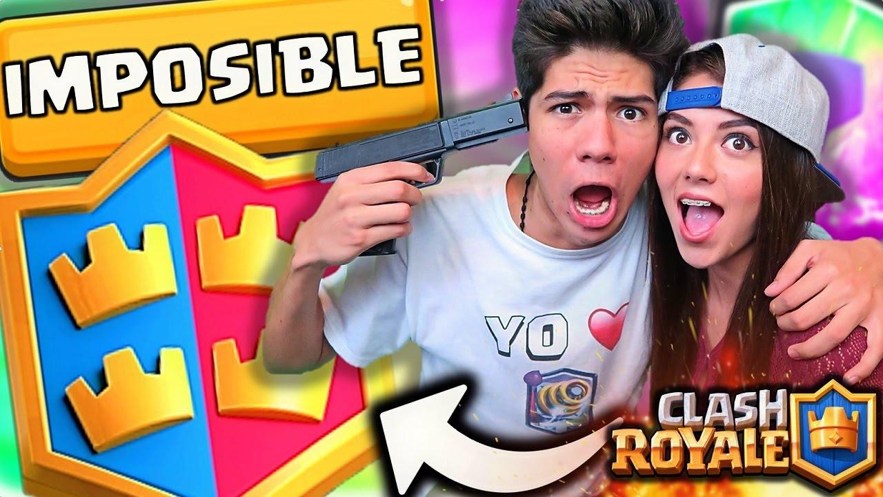 Jugando Con Mi Hermana En El 2 Vs 2 De Clash Royale