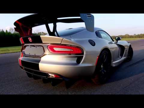 Tim Kuniskis, Head of Passenger Car Brands - Dodge, SRT, Chrysler and FIAT, FCA - North America, explains how the 2016 Dodge Viper ACR sets a new high-performance benchmark with more track records than any production car in the world.