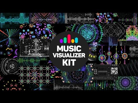 Music Visualizer Kit After Effects
