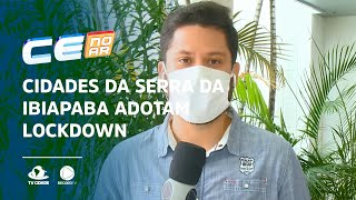 Cidades da serra da Ibiapaba, por onde Bolsonaro passou, adotam lockdown