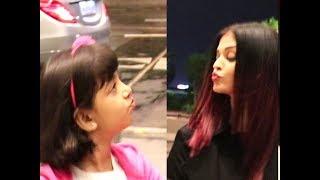 Aaradhya's flying kiss to mom Aishwarya steals hearts..