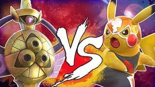 Pokken Tournament DX Aegislash DLC Vs Pika Libre FIGHT! (Nintendo Switch)