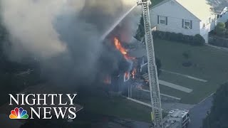 Gas Leaks Set Off Multiple Explosions In Massachusetts, Multiple Injured | NBC Nightly News