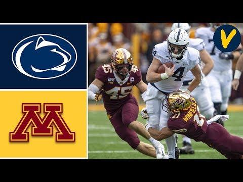 #4 Penn State vs #17 Minnesota Highlights | Week 11 | College Football 2019