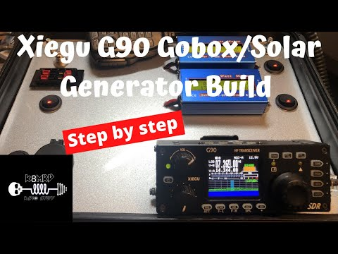 Xiegu G90 GoBox/Solar Generator Build Tutorial