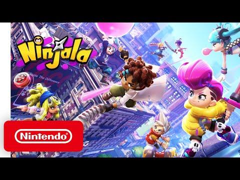 Nintendo Switch - Ninjala  - Announcement Trailer