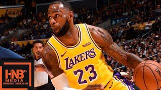 Los Angeles Lakers vs Denver Nuggets Full Game Highlights | 02.10.2018, NBA Preseason